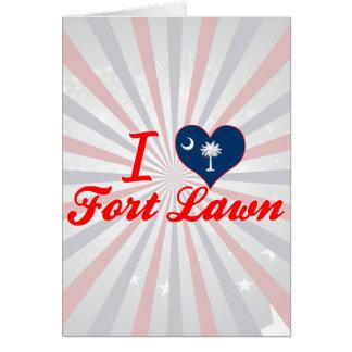 I Love Fort Lawn South Carolina Greeting Cards