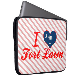 I Love Fort Lawn South Carolina Laptop Computer Sleeve