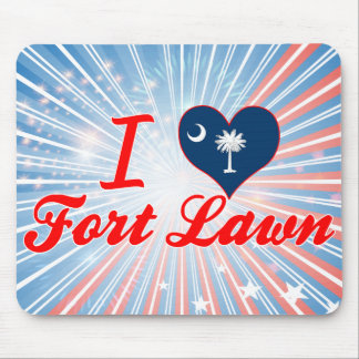 I Love Fort Lawn South Carolina Mouse Pads