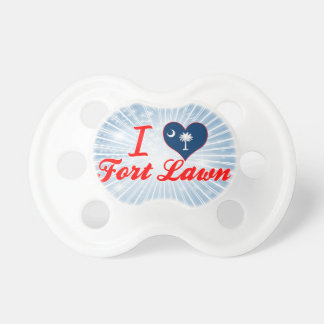 I Love Fort Lawn South Carolina Pacifier