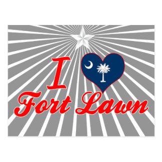 I Love Fort Lawn South Carolina Post Cards