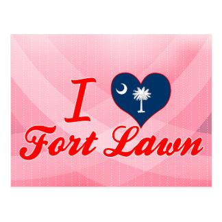 I Love Fort Lawn South Carolina Postcards