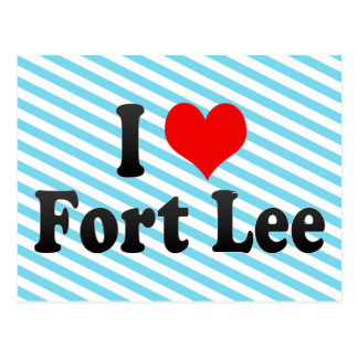 I Love Fort Lee, United States Post Cards