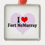 I Love Fort McMurray, Canada Christmas Ornament