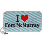 I Love Fort McMurray, Canada Laptop Speakers