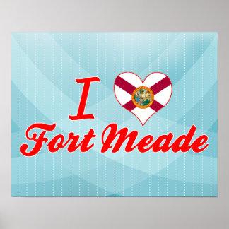 I Love Fort+Meade, Florida Poster