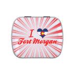 I Love Fort Morgan, Colorado Candy Tins
