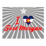 I Love Fort Morgan, Colorado Post Card