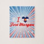 I Love Fort Morgan, Colorado Puzzles