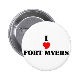 I love Fort Myers 2 Inch Round Button