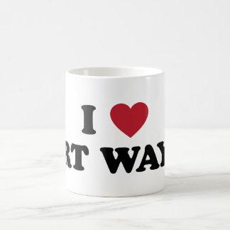 I Love Fort Wayne Indiana Coffee Mug