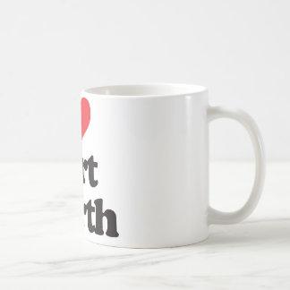 I Love Fort Worth Coffee Mug