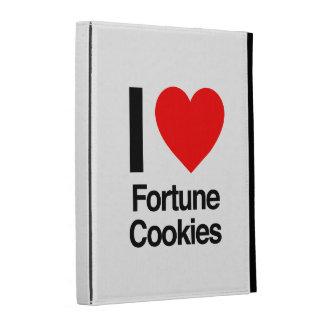 i love fortune cookies iPad folio cases