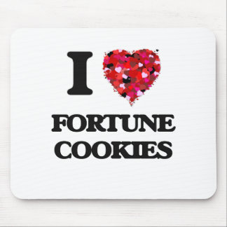 I Love Fortune Cookies Mouse Pad