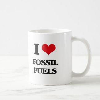 i LOVE fOSSIL fUELS Classic White Coffee Mug