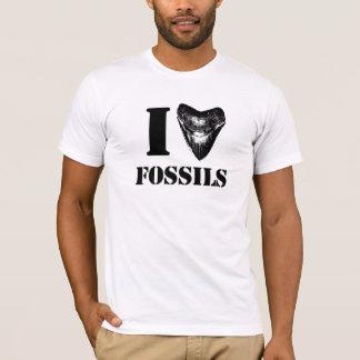 I LOVE FOSSILS Megalodon T-Shirt