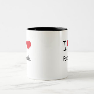 I Love Fossils Coffee Mug