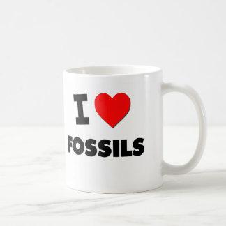 I Love Fossils Mug