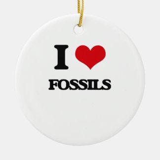 i LOVE fOSSILS Ornaments