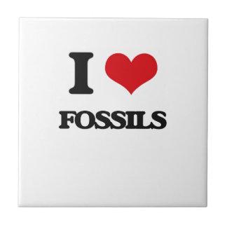 i LOVE fOSSILS Tiles