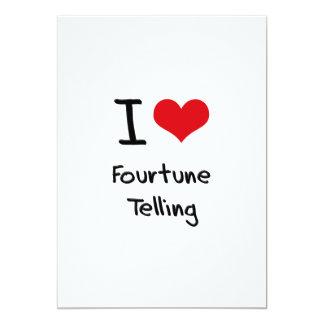 I Love Fourtune Telling Personalized Invitation