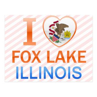 I Love Fox Lake, IL Postcard