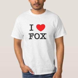 I Love Fox Shirt