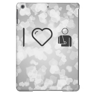 I Love Fractured Male Case For iPad Air