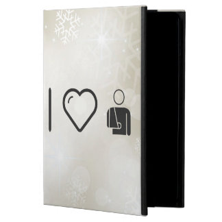 I Love Fractured Male iPad Air Case