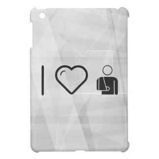 I Love Fractured Male iPad Mini Case
