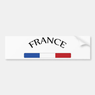 I Love France Bumper Sticker