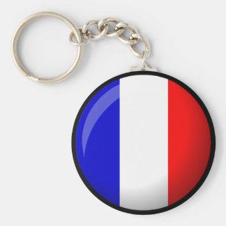 I Love France. France Key Chain