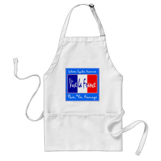 I Love France French Chef Apron Pain, Vin, Fromage