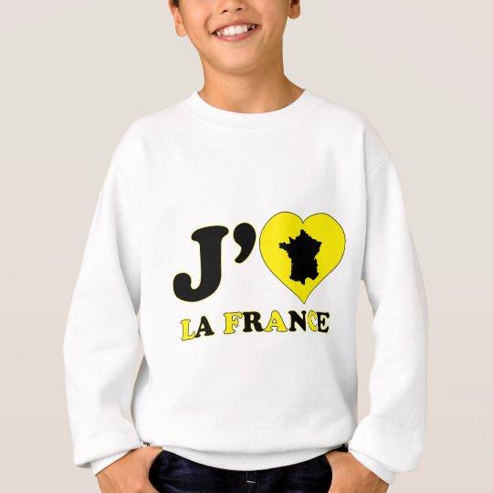 I Love France Sweatshirt