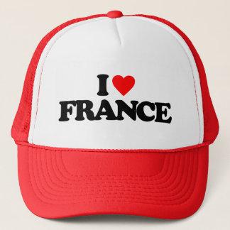 I LOVE FRANCE TRUCKER HAT