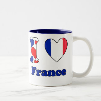 I love France Two-Tone Coffee Mug