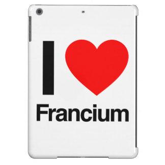 i love francium iPad air cases