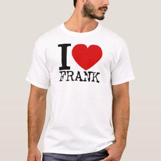 I Love Frank (Black) T-Shirt