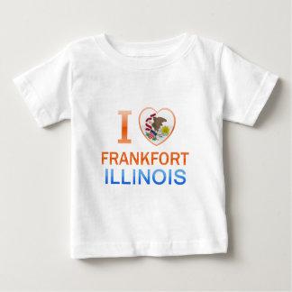 I Love Frankfort, IL T Shirt