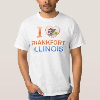I Love Frankfort, IL Tee Shirts