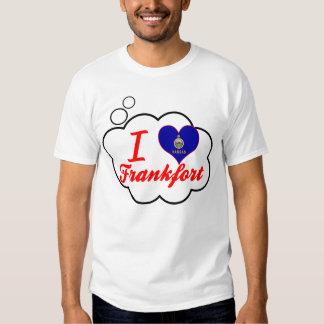 I Love Frankfort, Kansas T-shirts