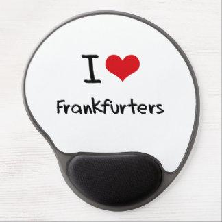 I Love Frankfurters Gel Mouse Pads