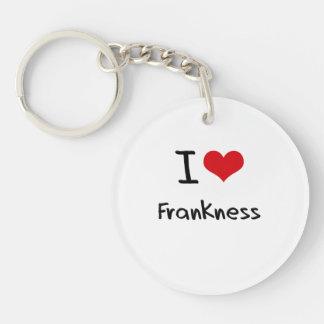 I Love Frankness Acrylic Key Chains