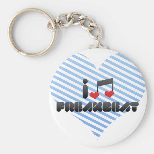 I Love Freakbeat Key Chain