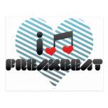 I Love Freakbeat Postcard