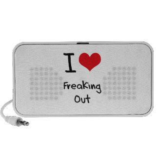 I Love Freaking Out Portable Speakers