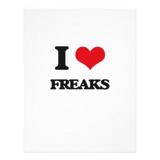 i LOVE fREAKS Full Color Flyer
