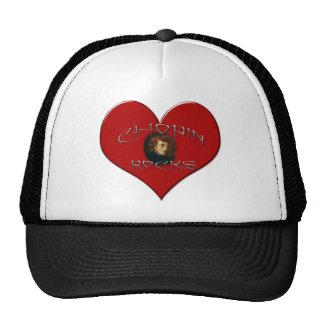 I Love Frederic Chopin Trucker Hats