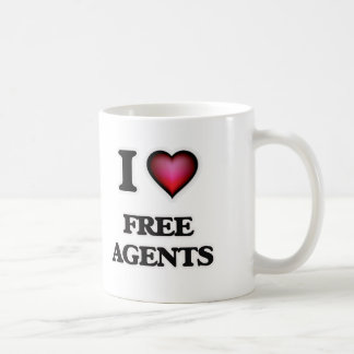 I love Free Agents Coffee Mug