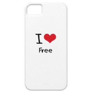 I Love Free iPhone 5 Case